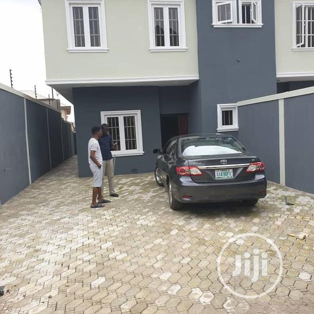 Archive: A Newly Completed Beautiful Spacious 4bedrooms Semi Detached