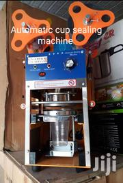 Cup Sealing Machine Available In Store | Manufacturing Equipment for sale in Lagos State, Amuwo-Odofin