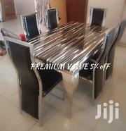 UNIQUE DESIGN MARBLE DINNING SET Used in Over 2million Homes   Furniture for sale in Rivers State, Ikwerre