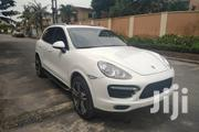 Porsche Cayenne 2012 Turbo White   Cars for sale in Lagos State, Ikeja