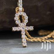 Non Tarnished Twisted Chain With Cross Available | Jewelry for sale in Lagos State, Lagos Island