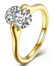 Steel Engagement Ring-Gold | Jewelry for sale in Ogun State, Ado-Odo/Ota