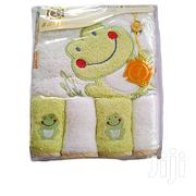 Baat Co Baby Hooded Towel With 4 Washcloths Multicolours | Babies & Kids Accessories for sale in Lagos State, Ikeja