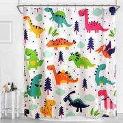 Kids Dinosaur Theme Shower Curtain | Home Accessories for sale in Lagos State, Surulere