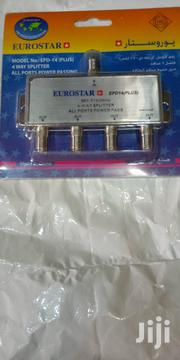 Eurostar 4-way Splitter | Accessories & Supplies for Electronics for sale in Lagos State, Oshodi-Isolo