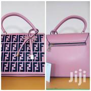 Pink and Black Leather Bag | Bags for sale in Lagos State, Ajah
