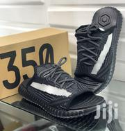 Yeezy 350 Boost Slippers Black | Shoes for sale in Lagos State, Ikeja