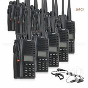 Puxing PX-777 Walkie Talkie Headset Professional FM Radios 10unit | Headphones for sale in Lagos State, Alimosho