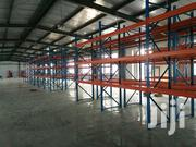Pallet Rack Heavy Blue And Red Rack Warehouse Type | Building Materials for sale in Lagos State, Agboyi/Ketu