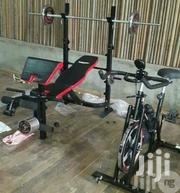 Commercial Weight With Barbell and Plate | Sports Equipment for sale in Lagos State, Ikoyi