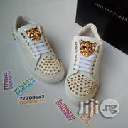 Philipp Plein Open Sneakers White | Shoes for sale in Lagos State, Ojo