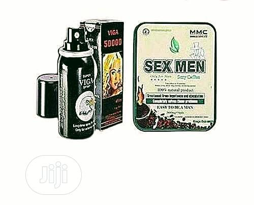 Sex Men Coffe And Viga