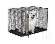 Generic Wire Collapsible Dog Cage Medium | Pet's Accessories for sale in Abuja (FCT) State, Wuse II
