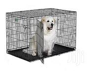 Generic Wire Collapsible Dog Cage Medium Size | Pet's Accessories for sale in Lagos State, Lekki Phase 1