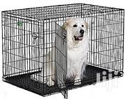 Generic Wire Collapsible Dog Cage Large | Pet's Accessories for sale in Abuja (FCT) State, Asokoro