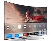"""Polystar 50"""" Inch Smart Curved LED TV 