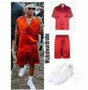 Wizkid Up And Down Shirt And Short Available | Clothing for sale in Lagos State, Lagos Island