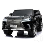 Lexus LX 570 Toddler 4WD Remote Control Ride On Car With 2 Seats-black | Toys for sale in Oyo State, Oluyole