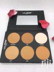 LA PRIDE 6pan Oil Control Powder Palette | Makeup for sale in Lagos State, Ojo