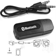 Wireless Bluetooth 3.5mm AUX Audio Stereo Car Receiver Adapter Mic | Vehicle Parts & Accessories for sale in Lagos State, Ikorodu