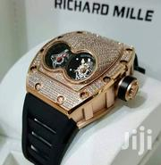 Rose Gold Stone Face With Double Interface by R. Mille | Watches for sale in Lagos State, Lagos Island