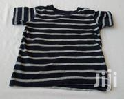 Black & White Stripes Kiddies Shirt Age 2 To 3 Years | Children's Clothing for sale in Abuja (FCT) State, Kubwa