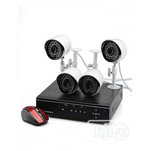 4 Cctv Camera Kit + 500 Gigabyte Hdd + 200m Rg59 Cctv Cable PLUS Remot