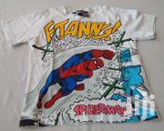 White Spiderman Kiddies Polo Shirt | Children's Clothing for sale in Abuja (FCT) State, Kubwa