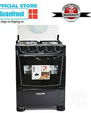 Scanfrost 4-Burner Gas Cooker CK-5400 NG - Black | Kitchen Appliances for sale in Enugu State, Nsukka