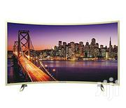 Polystar Smart 4k UHD Curved TV- PV-JP55SDU21100BD 55'' Inches   TV & DVD Equipment for sale in Lagos State, Ojo
