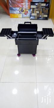 Black Pro Trolley Makeup Box | Tools & Accessories for sale in Lagos State, Ajah