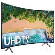 Samsung UHD 65 Inch 4K CURVED SMART TV-65NU7300 & Free Wall Bracket | TV & DVD Equipment for sale in Lagos State, Ojo