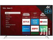 New Original TCL 65''smart Uhd 4K Utra Slim Tv-led65p6us | TV & DVD Equipment for sale in Lagos State, Ojo