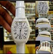 White Ceramic Designer's Wrist Watch by Franck Muller | Watches for sale in Lagos State, Lagos Island