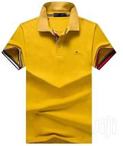 Gold Yellow Designer's Polo Tshirts by Tommy | Clothing for sale in Lagos State, Lagos Island
