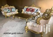 Italian Royal Sofa Chairs By 7 Seaters With Center Table And 2 Side | Furniture for sale in Lagos State, Lekki Phase 1