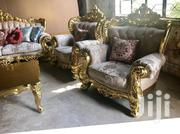 Italian Royal Sofa Chairs by 5 Seaters With Center Table | Furniture for sale in Lagos State, Lekki Phase 1