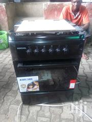 Bruhm Standing Gas Cooker 4 Gas Burners - 60 X 60 Matte Black | Kitchen Appliances for sale in Lagos State, Ojo