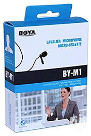 Boya BY-M1 Omni-directional Lavalier Microphone | Audio & Music Equipment for sale in Lagos State, Lagos Island