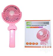 Rechargeable Portable Travel Fan With Lithium Battery 5V 1500mah | Home Appliances for sale in Lagos State, Ikeja
