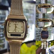 Casio Digital and Analog Wrist Watch_gold | Watches for sale in Lagos State, Lagos Mainland