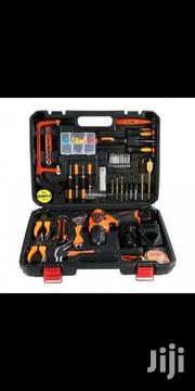 Portable Tool Box With 10mm 12v Cordless Drill Machine | Electrical Tools for sale in Lagos State, Lagos Island