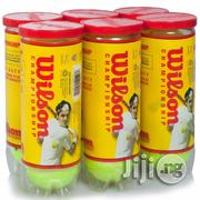 6 Set of Wilson Tennis Balls | Sports Equipment for sale in Lagos State, Surulere