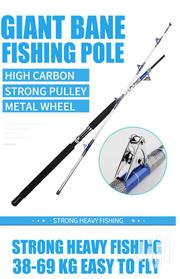 1.8m 38-69kg Heavy Duty Trolling Fishing Rod And Reel | Camping Gear for sale in Lagos State, Lagos Island