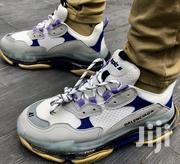 BALENCIAGA 19SS //TRIPLE S Trainer; Clear Sole/Purple/White Yellow | Sports Equipment for sale in Abuja (FCT) State, Maitama