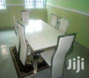 Quality 6 Seaters Marble Dining Table | Furniture for sale in Rivers State, Port-Harcourt