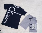 Ck Jeans Vest and Short | Children's Clothing for sale in Lagos State, Lagos Island