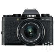 Fujifilm X-T100 Mirrorless Camera With Xc15-45mm Lens | Accessories & Supplies for Electronics for sale in Lagos State, Ikeja