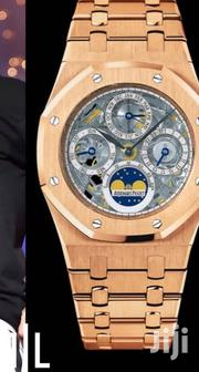 Golden Chronograph Designer's Gray Face Watch by Audemars Piguet   Watches for sale in Lagos State, Lagos Island