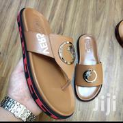 New Brown Versace Designers Slippers for Men of Class | Shoes for sale in Lagos State, Lagos Island